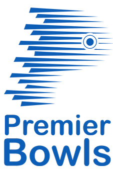 Premier bowls logo. Crown Green Bowls, Lawn bowls and Bowls Renovations in Uk and Stockport